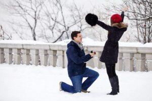 SKYFLY huwelijksaanzoek winter