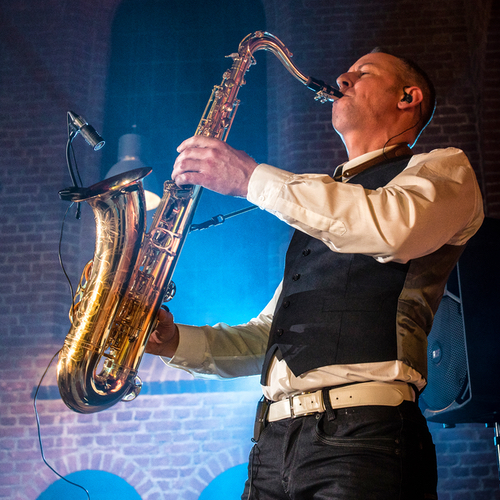 Sax live saxofonist